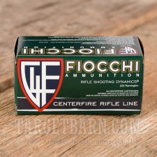 Fiocchi Shooting Dynamics 223 Remington Ammunition - 1000 Rounds of 62 Grain FMJ