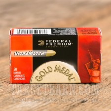 Federal Gold Medal Match 22 LR Ammunition - 50 Rounds of 40 Grain LRN