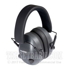 Champion Hearing Protection - Electronic Ear Muffs - Active / Black - 25 NRR - One Pair