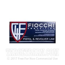 Fiocchi 9mm Luger Ammunition - 50 Rounds of 115 Grain CMJ