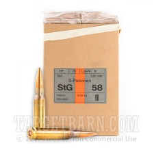 Hirtenberger 308 WInchester Ammunition - 20 Rounds of 146 Grain FMJ