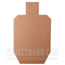 Traditional USPSA/IPSC-AirSoft - 100 Target Barn Cardboard Targets