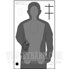 OPOTA-RQT2 Paper Targets - Ohio Police Training, Rev - 100 Count