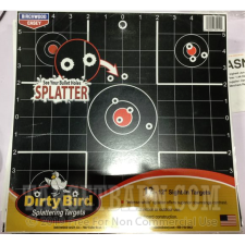 "Birchwood Casey Dirty Bird Black Targets - 12 Reactive Targets - 12"" Sight-In"