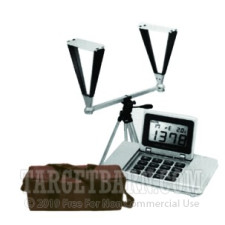 CED M2 Digital Chronograph - Combo Pack with Carry Case & Tripod