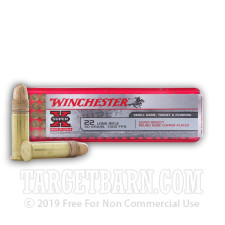 Winchester Super-X 22 LR Ammunition - 500 Rounds of 40 Grain CPRN