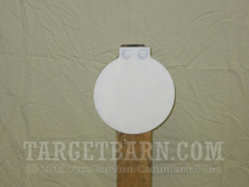"Steel Target With Hardware - 8"" Round - Handgun"