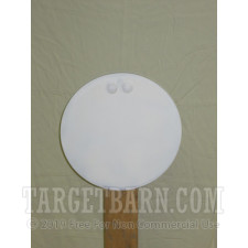 "Steel Target With Hardware - 12"" Round - Handgun & Rifle"