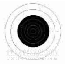 MR-52 Paper Targets - 200 Yd High Power Rifle - 100 Count