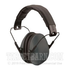 Champion Traps & Targets Hearing Protection - Slim Ear Muffs - Passive / Grey - 21 NRR - One Pair