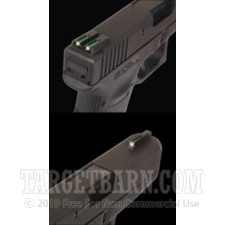Tru-Glo Tritium Fiber Optic Sights - Glock 17 - Front & Rear