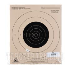 B-16 Paper Targets - 25 Yd Slow Fire Pistol - 100 Count