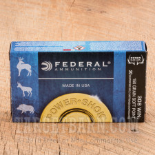 Federal Power-Shok 308 Winchester Ammunition - 200 Rounds of 150 Grain SP