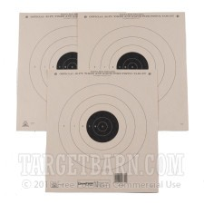 NRA B-3 50 Foot Timed & Rapid Fire Target - Official Bullseye Competition - Champion - 12 Count