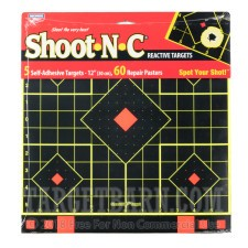 "Birchwood Casey Splatter Targets - 5 Shoot-N-C Targets - 12"" Sight-In"
