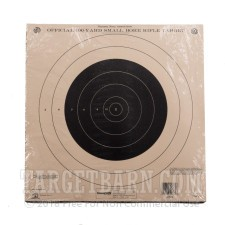 NRA TQ-4/A-14 100 Yard Small Bore Target - Official Precision Competition - Champion - 12 Count