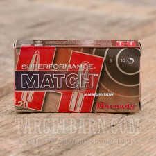 Hornady Superformance Match 223 Remington Ammunition - 200 Rounds of 75 Grain BTHP