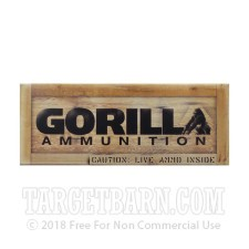 Gorilla 300 AAC Blackout Ammunition - 20 Rounds of 220 Grain Sierra Matchking OTM