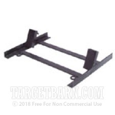 "18"" Steel Target Stand - 45 Degree Lean Back - Black"