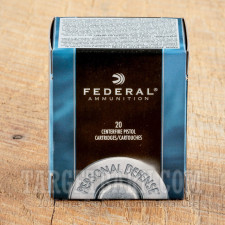 Federal Personal Defense 357 Magnum Ammunition - 20 Rounds of 125 Grain JHP