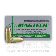 Magtech Clean Range 9mm Luger Ammunition - 1000 Rounds of 115 Grain FEB
