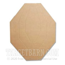 Classic-Airsoft - IPSC - Cardboard Targets - 100
