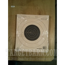 NRA B-16 25 Yard Slow Fire Target - Official Bullseye Competition - Champion - 12 Count