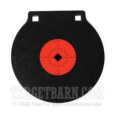 Birchwood Casey 8 Inch Double Hole AR500 Gong