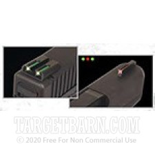 Tru-Glo Fiber Optic Sights - Glock 17 - Front & Rear