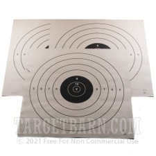 SR Paper Targets - 200 Yd High Power Rifle - 50 Count