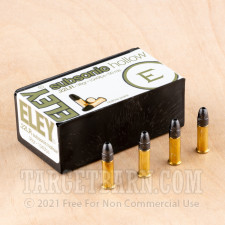 Eley Subsonic 22 LR Ammunition - 50 Rounds of 38 Grain HP