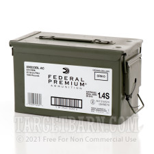 Federal American Eagle 223 Rem Ammunition - 1000 Rounds of 55 Grain FMJ