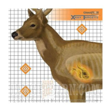 Animal XRAY Deer Practice Target - Precision Hunting Sight-In - Champion - 6 Count