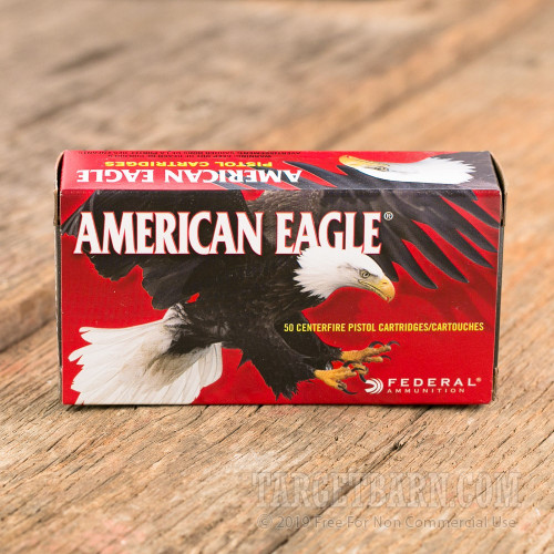 Federal American Eagle 9mm Luger 147 Grain FMJ FN - 50 Rounds