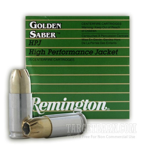 Golden saber 9mm penetration