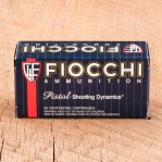 Fiocchi 38 Special Ammunition - 1000 Rounds of 158 Grain JHP