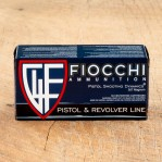 Fiocchi 357 Magnum Ammunition - 50 Rounds of 148 Grain JHP