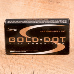 Speer Gold Dot LE 9mm Luger Ammunition - 1000 Rounds of 124 Grain JHP
