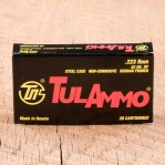 Tula 223 Remington Ammunition - 20 Rounds of 62 Grain HP