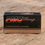 PMC 9mm Luger Ammunition - 50 Rounds of 115 Grain FMJ