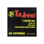 Tula Cartridge Works 7.62x39mm Ammunition - 1000 Rounds of 124 Grain HP
