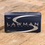 Speer Lawman Cleanfire 357 SIG Ammunition - 1000 Rounds of 125 Grain TMJ