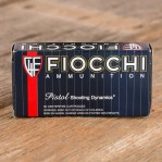 Fiocchi 40 S&W Ammunition - 50 Rounds of 165 Grain FMJTC