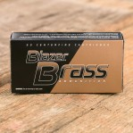 Blazer Brass 9mm Luger Ammunition - 50 Rounds of 124 Grain FMJ