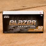 Blazer Brass 9mm Luger Ammunition - 50 Rounds of 124 Grain FMJ