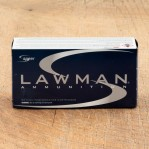 Speer Lawman 38 Special Ammunition - 50 Rounds of +P 158 Grain TMJ