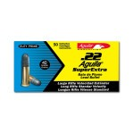 Aguila Super Extra 22 LR Ammunition - 50 Rounds of 40 Grain LRN