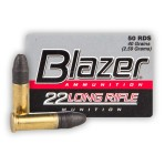 CCI Blazer 22 LR Ammunition - 5000 Rounds of 40 Grain LRN