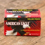 Federal American Eagle 9mm Luger Ammunition - 100 Rounds of 115 Grain FMJ