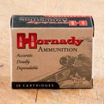 Hornady Custom 40 S&W Ammunition - 20 Rounds of 155 Grain XTP
